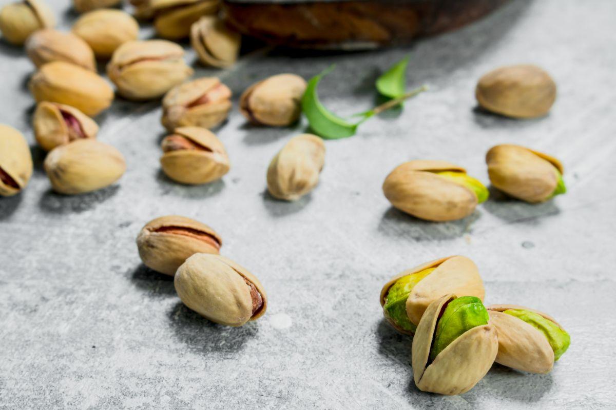 Composizione pistacchi